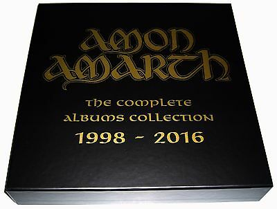 AMON AMARTH - [BOX ONLY] Complete Albums Collection 1998-2016 - Vinyl Set