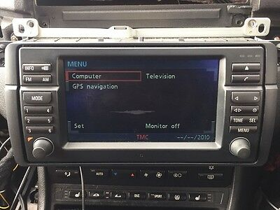 BMW 3 Series E46 M3 Sat Nav 16:9 Wide Screen Monitor Display Unit Alpine