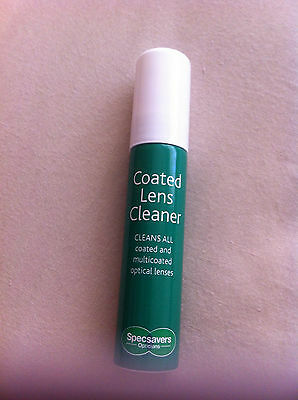 Glasses  - coated lense cleaning spray