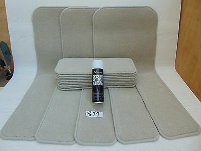 Stair pads / treads 15 off and 3 Big Mats with a FREE can of SPRAY GLUE #811-8