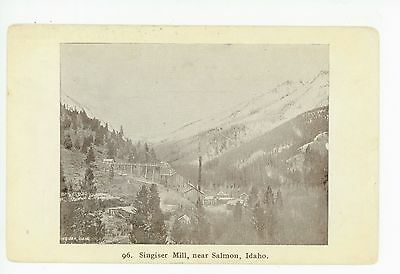 Singiser Mine—Salmon ID Rare Antique Gold Mining—Singheiser PC 1910s