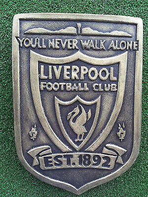 In the style of Liverpool F.C stone wall plaque
