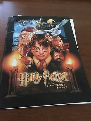 COMPLETE PRESS KIT  for Harry Potter and the Sorcerer's Stone