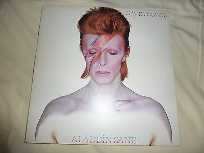 David Bowie Alladin Sane Vinyl Lp Disc And Cover Both Near Mint