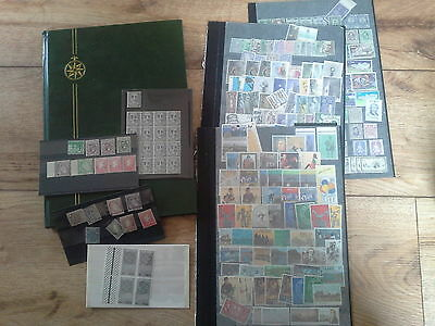 Over 750 new and old unused Irish stamps