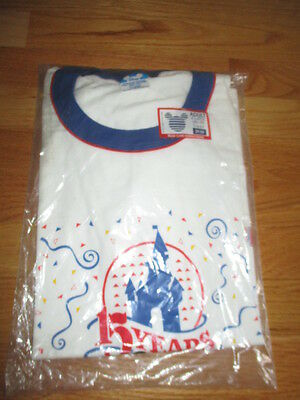 Rare 1986 Walt Disney Productions 15 Years MICKEY MOUSE (XL) T-Shirt SEALED