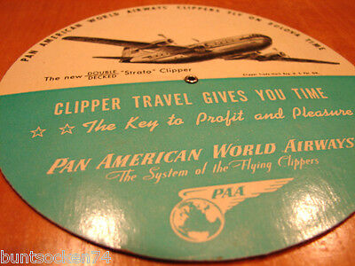 PAA Pan American Time Selector Double Decked Strato Clipper