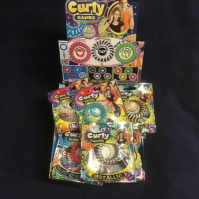 24 Curly Bands Lucky Dip Fete Bag Party Piñata Wholesale Party Lucky Bag Loot