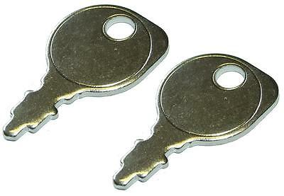 Ignition Key For Ride On Lawn Mower Twin Pack