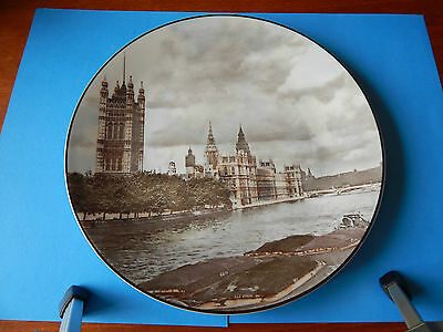 Large Royal Doulton The Houses Of Parliament Plate VGC MP