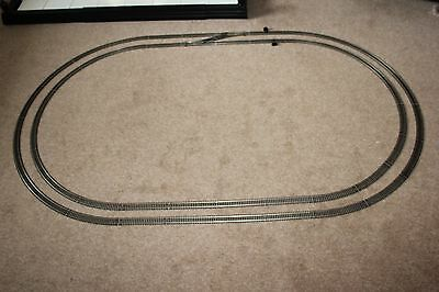 Hornby China Made Nickel Silver 3Rd & 2Nd Radius Large Ovals Of Connected Track