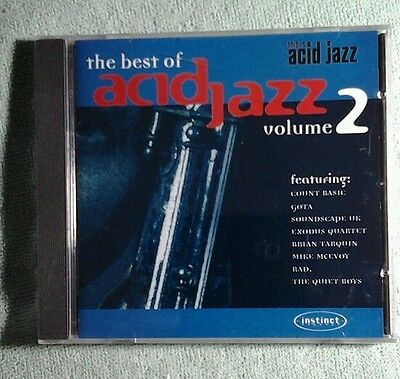The Best Of Acid Jazz Volume 2 Cd New/sealed ●Buy 2 Save 10%