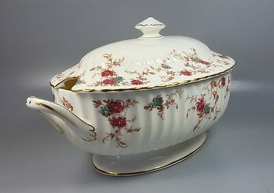 Minton Ancestral S376 Large Oval Soup Tureen