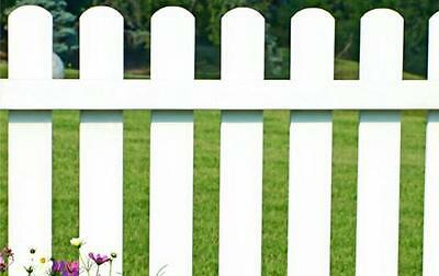White Picket Fence Event freestanding round top picket fence 3ft tall
