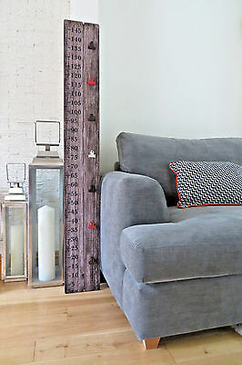 Giant Height Chart Wooden Ruler With Unique Photo Clips 150cm