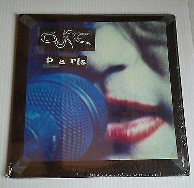 THE CURE - PARIS (2xLP) Spain First Pressing on Fiction Records 1993 Mint!!!