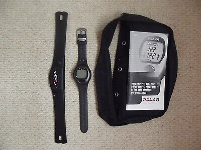 Polar M21 Heart Rate Monitor Watch Black Resin, no battery, spares or repairs