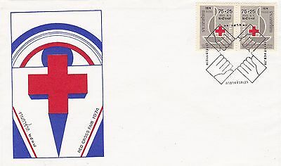 Thailand FDC Red Cross 1975