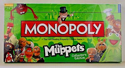 Monopoly The Muppets Collector's Edition Board Game - New and Sealed