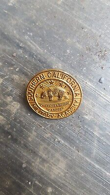 Vintage Southern California Military Academy Pin