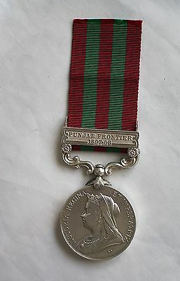 1895 India Medal to an officer in the 10th Bengal Lancers, cavalry Jemadar