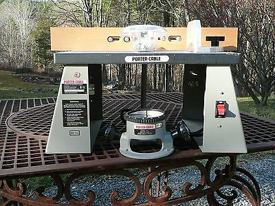 Porter Cable router/shaper table and base
