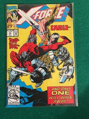 X-Force #15 ~ DeadPool VS Cable And Only One Will Walk Away! NM