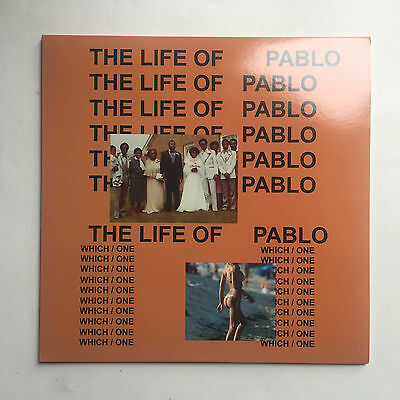 Kanye West - The Life Of Pablo * Lp Clear Vinyl ** Mint ** Free P&p Uk ** New **