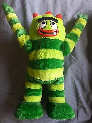 "2008 Yo Gabba Gabba Dancing Brobee 14"" Toy *Perfect Condition/No Box or Battery*"