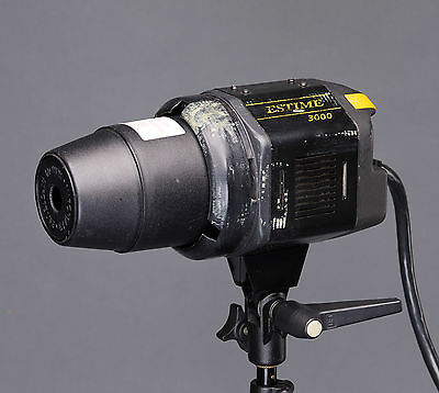 Bowens Estime 3000 Studio Lighting Flash Head 3000 Ws