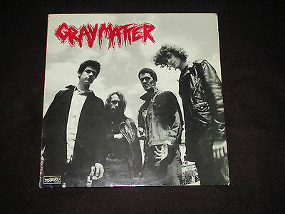 "Gray Matter - Take It Back 12"" E.p -1986 Dischord Records- France - Dischord 21"