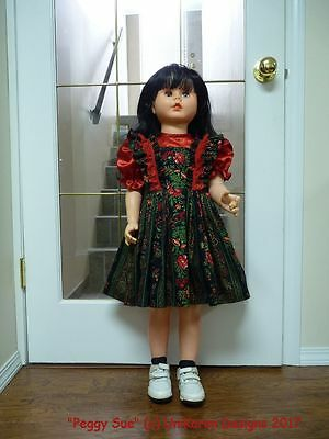 "DOLL DRESS & BLOOMERS for Patty Patti Playpal Companion Doll 35"" 36"" (not doll)"