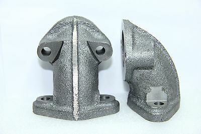 Classic Fiat 500 126 Exhaust Manifold Elbow Brand New Pair Kit