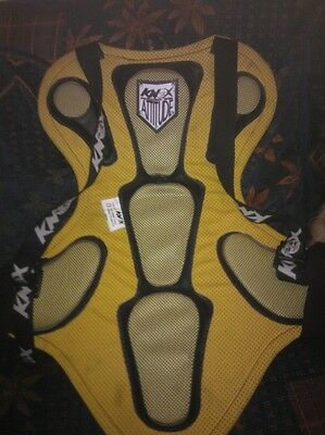back protector size large.back protector motorbike gear body armour knox