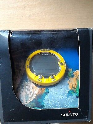Brand new SUUNTO ZOOP dive computer yellow