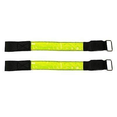 COM-FOUR ® Velcro – Secure, Compact and lightweight Neon Yellow with Reflec