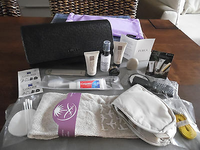 SAUDIA First Class FURLA Ladies' Amenity Kit Clutch Bag Trousse Kulturbeutel