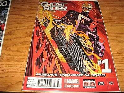 ALL NEW GHOST RIDER #1 NM 1st REYES Marvel AGENT OF SHIELD 1st Print