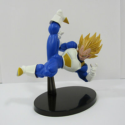 Dragon Ball Z Super Saiyan Vegeta Scultures BIG 5 PVC Figure Banpresto