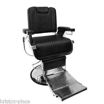 "Glammar Federiko ""the Fed""  Barber Shop Classic Vintage Style  Heavy Duty Chair"