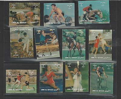 Umm Al Qiwain 3D Olympic Sports  22  MNH Stamps