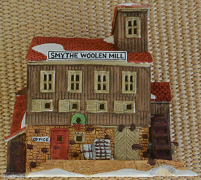 """Department 56 New England Village """"Smythe Woolen Mill"""" Retired Limited to 7,500!"""