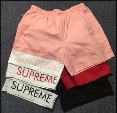 Hot New Supreme Unisex Men's Three Colors Sport&Casual Fashion Pants Shorts