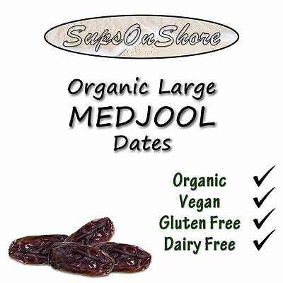 Organic Large Medjool Dates (With Pits) - 250g, 500g, 1KG & 2KG