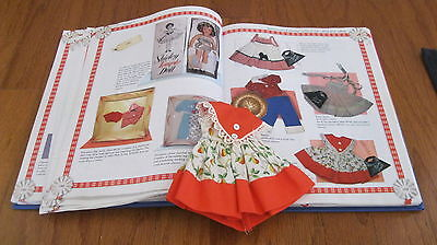 Shirley Temple Ideal Orange School Dress For St-12 Doll
