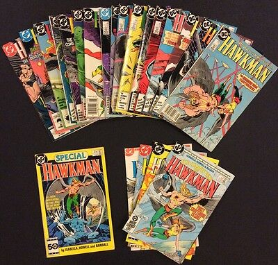 HAWKMAN #1 - 17 Comic Books FULL SET Special SHADOW WAR #1-4 Isabella Hawkgirl