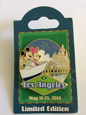 Disney Pin 61611 DCL Cruise Line Los Angeles 2008 Panama Canal Le 1000