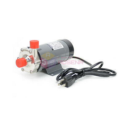 220V Magnetic Drive Pump 15R With 304 Stainless Steel Head Draft Beer Homebrew