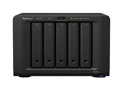 Synology DS1517+ 8G DiskStation 5-Bay NAS Intel Quad-Core 2.4GHz 8GB DDR3 RAM