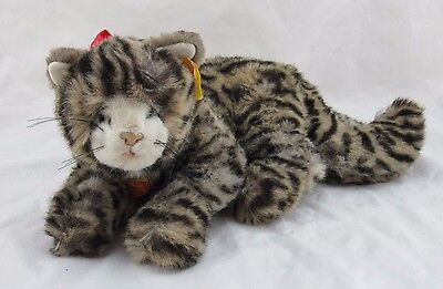 Steiff Minou Laying Leopard Cat with Ear Tag